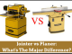 Jointer vs Planer- What's The Major Difference