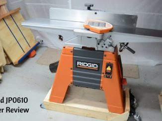 Ridgid JP0610 Jointer Review