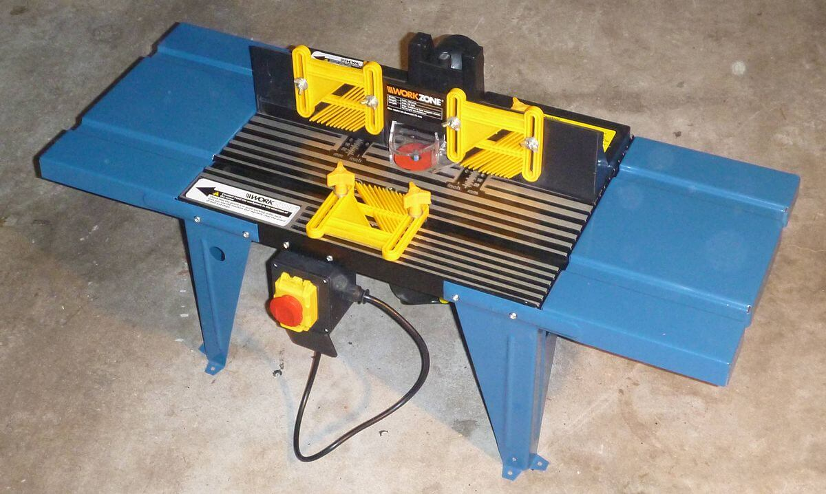 function of Router table